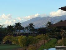 Opinión de Maui imagen de archivo