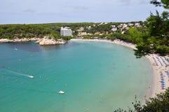 Opinión de Menorca Balearic Island Imagenes de archivo