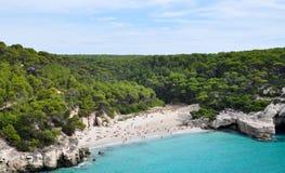 Opinión de Menorca Balearic Island Imagen de archivo