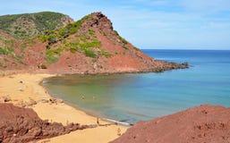 Opinión de Menorca Balearic Island Foto de archivo libre de regalías
