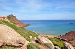 Opinión de Menorca Balearic Island Fotografía de archivo libre de regalías