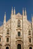 Opinión de Milano, Duomo Fotografía de archivo libre de regalías