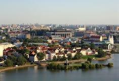 Opinión de Minsk Fotografía de archivo libre de regalías