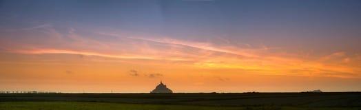 Opinión de Mont santo-Miguel del prado Imágenes de archivo libres de regalías