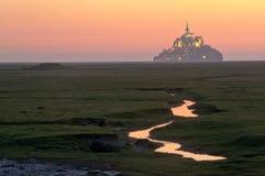 Opinión de Mont santo-Miguel del prado Fotografía de archivo libre de regalías