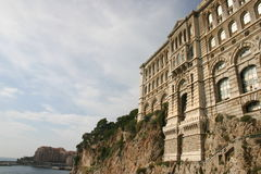 Opinión de Monte Carlo fotografía de archivo