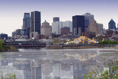 Opinión de Montreal Imágenes de archivo libres de regalías