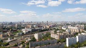 Opinión de Moscú desde arriba Fotografía de archivo libre de regalías