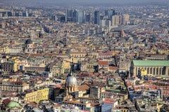 Opinión de Nápoles Fotos de archivo libres de regalías