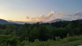 Opinión de New Hampshire Imagenes de archivo