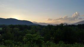 Opinión de New Hampshire Fotos de archivo