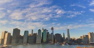 Opinión de New York City Foto de archivo