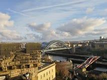 Opinión de Newcastle imagenes de archivo