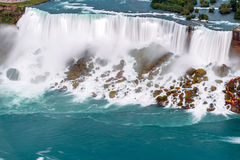 Opinión de Niagara Falls Imagenes de archivo