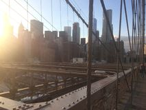 Opinión de Nueva York foto de archivo libre de regalías