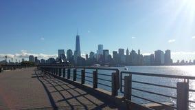Opinión de Nueva York Fotos de archivo libres de regalías