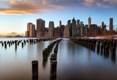 Opinión de Nueva York Imagenes de archivo