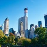 Opinión de Nueva York de Central Park fotos de archivo libres de regalías