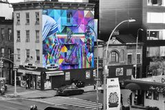 Opinión de Nueva York HighLine imagenes de archivo
