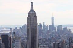 Opinión de Nueva York Manhattan Imagenes de archivo