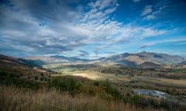 Opinión de Nueva Zelanda Imagen de archivo libre de regalías