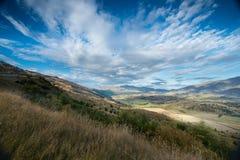 Opinión de Nueva Zelanda Foto de archivo