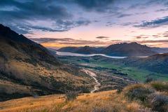 Opinión de Nueva Zelanda Imagenes de archivo