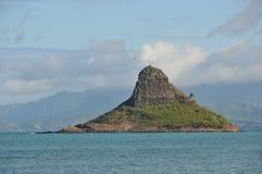 Opinión de Oahu imagen de archivo