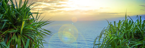 Opinión de océano escénica Imágenes de archivo libres de regalías