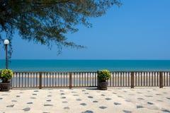 Opinión de océano tailandesa Imagen de archivo libre de regalías