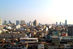 Opinión de ojo de pájaro de Bangkok 08 fotografía de archivo