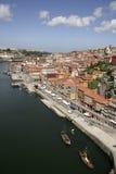 Opinión de Oporto Imagenes de archivo