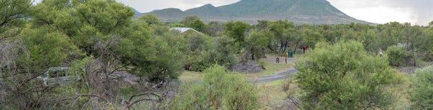 Opinión de Panoramioc del campo de Nqweba Fotografía de archivo libre de regalías