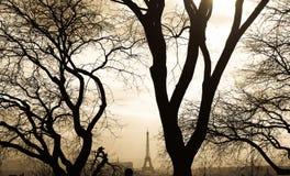 Opinión de París Foto de archivo