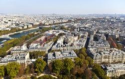 Opinión de París fotos de archivo libres de regalías