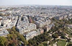 Opinión de París foto de archivo libre de regalías