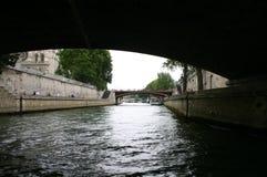 Opinión de París del río Foto de archivo libre de regalías