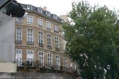 Opinión de París del río Fotografía de archivo libre de regalías