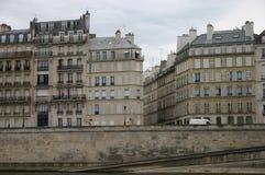 Opinión de París del río Imagenes de archivo