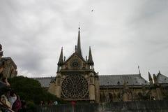 Opinión de París del río Foto de archivo