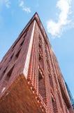 Opinión de perspectiva moderna del edificio Foto de archivo