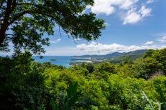 Opinión de Phuket Imágenes de archivo libres de regalías