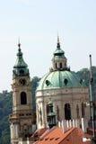 Opinión de Praga Fotos de archivo libres de regalías