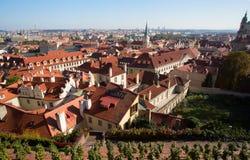 Opinión de Praga Foto de archivo