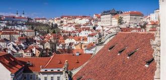 Opinión de Praga Fotos de archivo