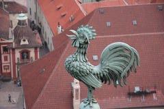 Opinión de Praga Imágenes de archivo libres de regalías