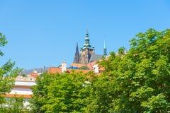 Opinión de Praga, República Checa Fotografía de archivo