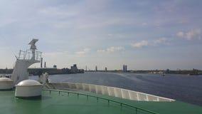 Opinión de Riga Foto de archivo