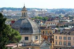 Opinión de Roma Foto de archivo libre de regalías