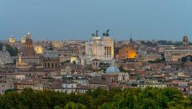 Opinión de Roma Pranoramic Fotos de archivo
